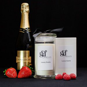 sparkling strawberries candle gdcandles