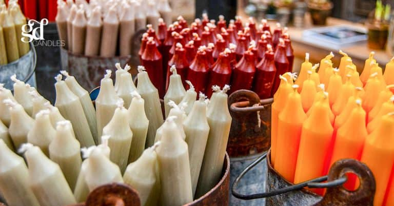the history of candles gd candles